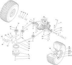 toro parts u2013 dh 220 lawn tractor