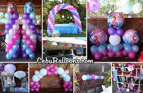 birthday party venues in cebu cebu balloons and party supplies