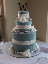 towel cakes design wedding towel cake excellent idea how to make a for