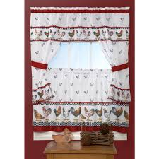 Rooster Swag Curtains by Rooster Curtains Valances Window Treatments Compare Prices At