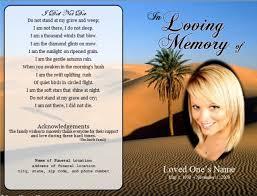 funeral prayer cards funeral prayer cards templates free
