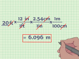 How To M by How To Convert Feet To Meters With Unit Converter Wikihow