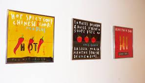 cadre deco pour cuisine la décoration murale de la cuisine inspiration cuisine le