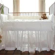 Pottery Barn Ruffle Crib Skirt Gray Crib Skirt Design Ideas
