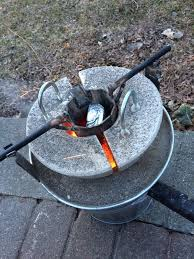 how to make the mini metal foundry homemade blacksmithing and
