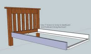 ana white build the simple bed diy projects