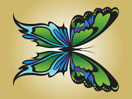 beautiful butterfly vector graphics freevector com