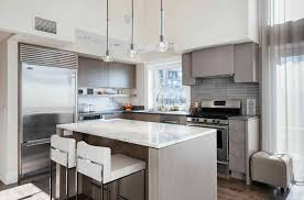 Modern Kitchen With White Appliances Colorful Kitchens Modern White Kitchen Cabinets White Kitchen