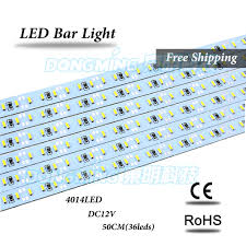 Waterproof Led Light Bar 12v by Aliexpress Com Buy 5pcs Lot 36 72 Leds 0 5m Led Bar Light Smd