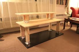 do it yourself standing desk brilliant standing desk ideas 21 diy standing or stand up desk