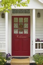 posh home depot front doors red our front door updated home