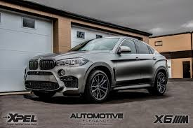 matte bmw 2016 bmw x6m u2013 full vehicle wrap u2013 xpel stealth matte ppf
