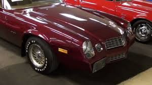 79 chevy camaro 1979 chevrolet camaro berlinetta low mileage original