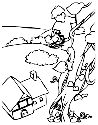 giant from jack and the beanstalk coloring page for and the