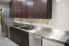 bathroom countertops and commercial stainless steel sink with