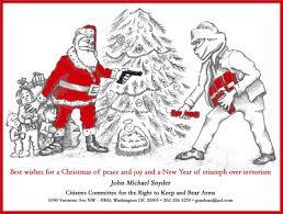 santa and baby jesus picture santa won t let terrorists up baby jesus