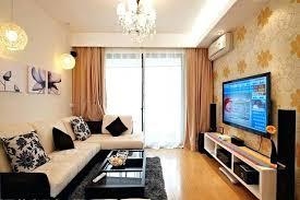 Small Room Divider Tv Room Small Room Ideas With Floral Wallpaper Tv Room Divider