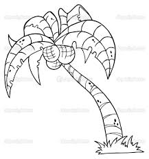 printable palm tree palm tree coloring pages for kids