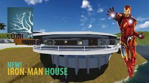 Iron Man House Iron Man House New Version Lumion Youtube