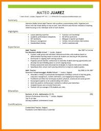 Free Teaching Resume Templates Educator Resume Template For Word And Pages Principal Resume