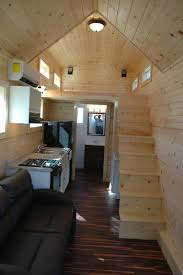 a 280 square feet tiny house mounted to a 26 u2032 trailer in nampa