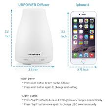 amazon com urpower 2nd version essential oil diffuser 100ml aroma