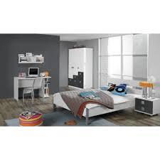jugendzimmer skate jugendzimmer set skate 5tlg 140x200 weiß grau metallic rauch
