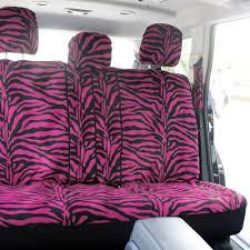 lexus seat covers nz 21pc pink zebra animal print car seat cover carpet floor mat