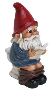 pooping lawn gnome hilarious lawn ornament gnome lawnornament