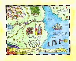 Barefoot Landing Map Beautiful Maps To Show The Kids To Make Their Own Imaginary Island