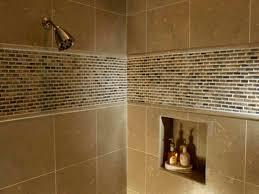 Shower Tiling Ideas Earth Multi Color Slate Gauged Tile Bathroom - Shower backsplash