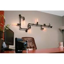 industrial pipe light fixture industrial pipe lighting wayfair