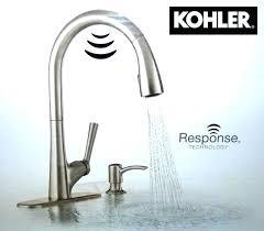 Kohler Touch Kitchen Faucet Kohler Touchless Kitchen Faucet Vs Pull Kitchen Faucet Kohler