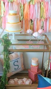 Pink Cocktails For Baby Shower - chic and modern cake u0026 cocktails bridal shower