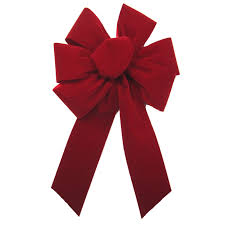 decorative bows dyno decorative bows velvet fleck christmas bow 40 traditional