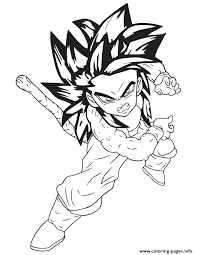 dragonball anime coloring coloring pages printable