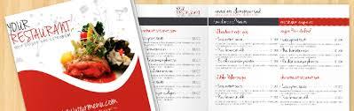dining menu template menu templates