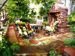 cheap diy patio ideas with stone in the red design 40 outstanding
