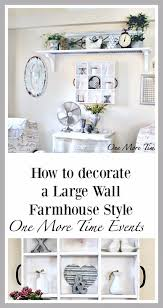 How to decorate a Wall Farmhouse Style