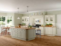 Painted Islands For Kitchens Gallery Rockfort Shaker Kitchen Shown In Stone Finish Base And