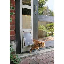Patio Pacific Pet Doors Hartman Pet Door Sliding Medium Flap 300x180mm Bunnings Warehouse