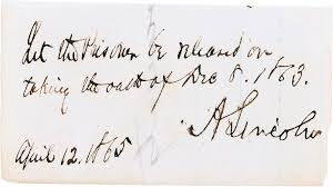 abraham lincoln u0027s hair autographs and rare letters go on sale