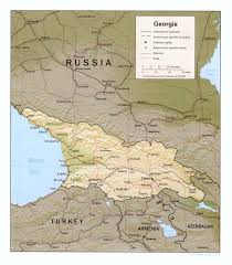 Georgia Road Map Georgia Republic Maps Perry Castañeda Map Collection Ut