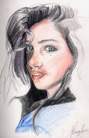 pencil color sketch by ouyk on deviantart