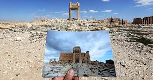 syria before and after before and after isis heartbreaking photos of destroyed historical