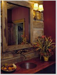 Houzz Rustic Bathrooms - mirrors inspiring justic bathroom mirrors reclaimed wood mirror
