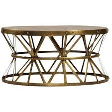 Brass Coffee Table Vintage Used Brass Coffee Tables Chairish