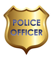 how to draw a police badge clipart clipartix