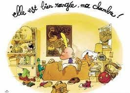 vocabulaire de la chambre mon coin de français ma chambre