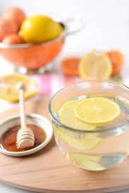 honey u0026 ginger warm lemon water emily kyle nutrition